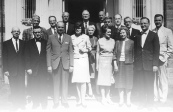 Photograph of members of the first NICHD council