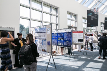 Poster session at the Human Placenta Project meeting