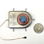 Wireless, implantable brain sensor