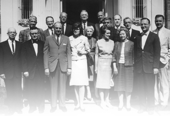 Photograph of members of the first NICHD council.