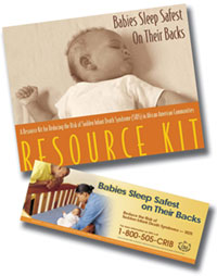SIDS brochure for African American outreach