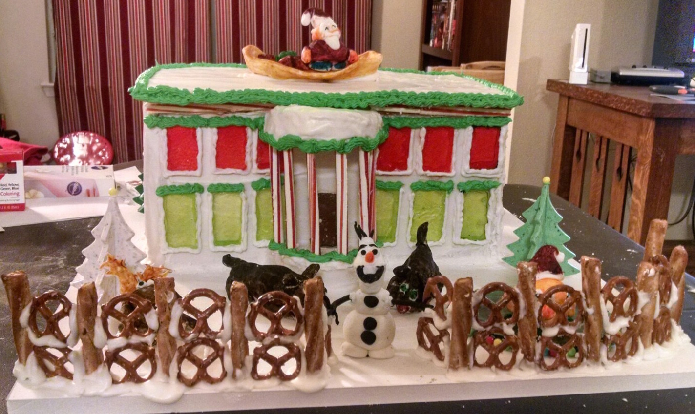 Gingerbread House in competition.