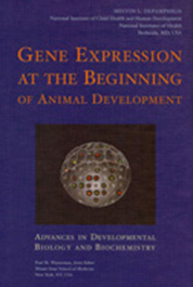 Cover of Gene Expression at the Beginning publication.