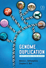 Cover of Genome Duplication publication.