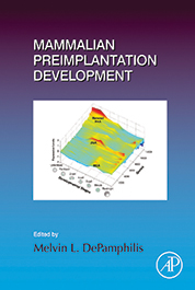 Cover of Mammalian Preimplantation Development publication.
