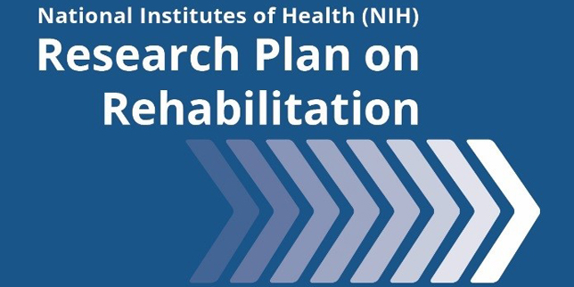 Cover of the NIH Research Plan on Rehabilitation