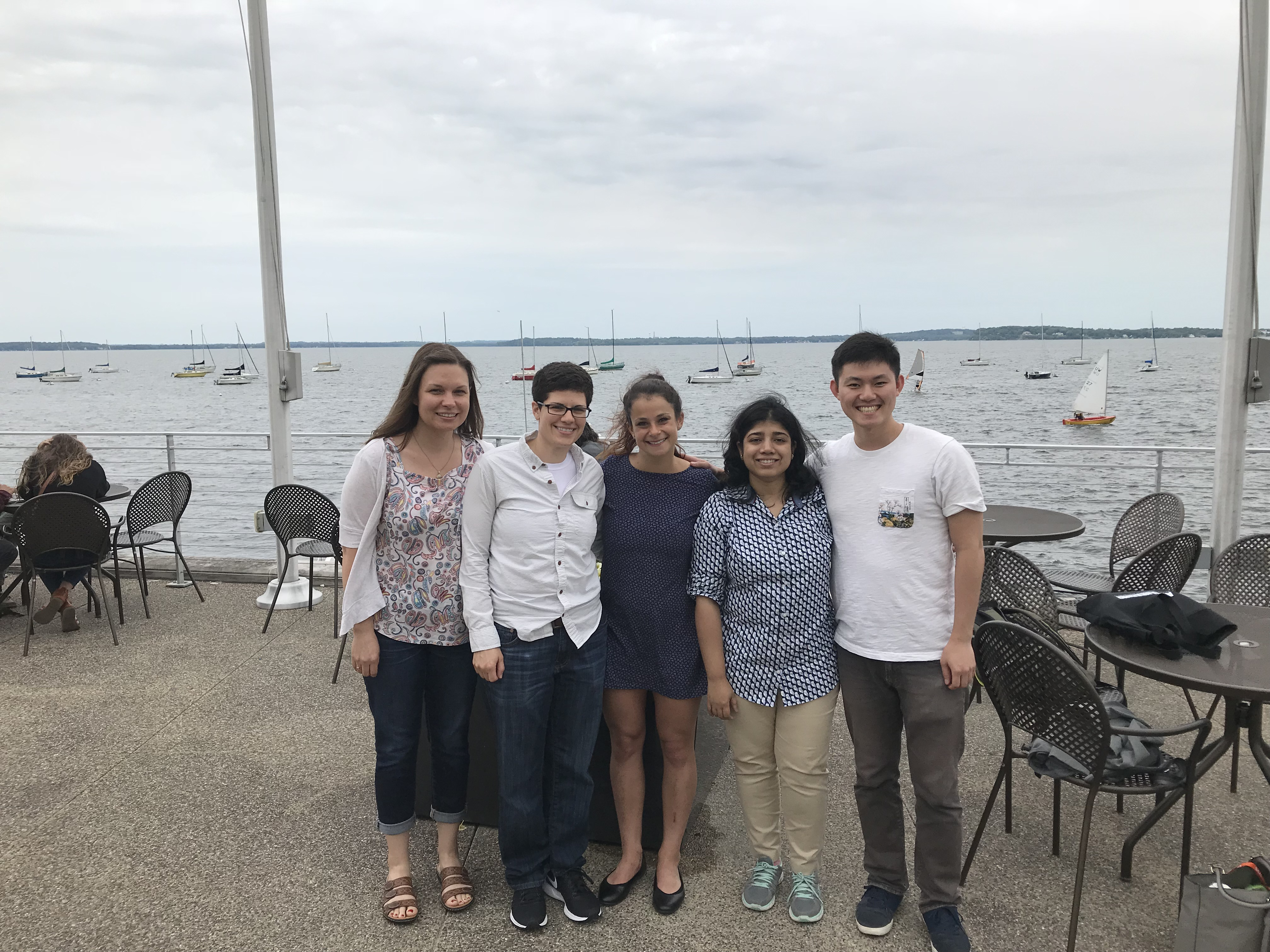 Drerup Lab staff in Madison, WI for the Zebrafish meeting.