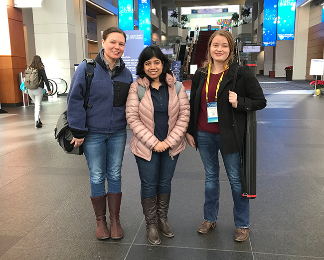 Drerup lab at ASCB 2019.