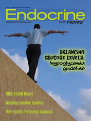 Cover of Endocrine magazine.