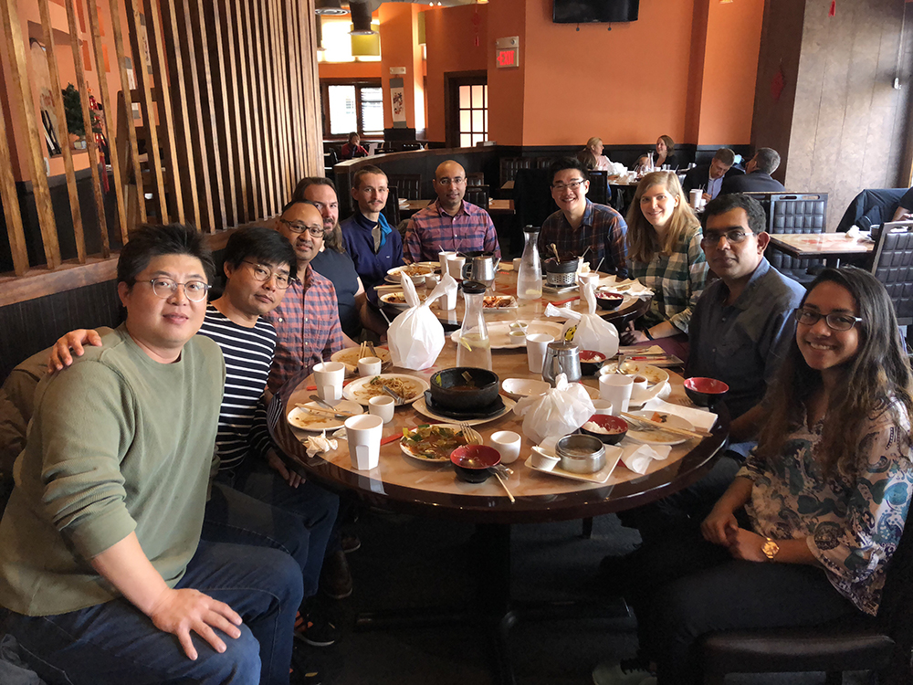 Banerjee Lab - holiday lunch, January 2019