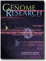 Cover of Genome Research.