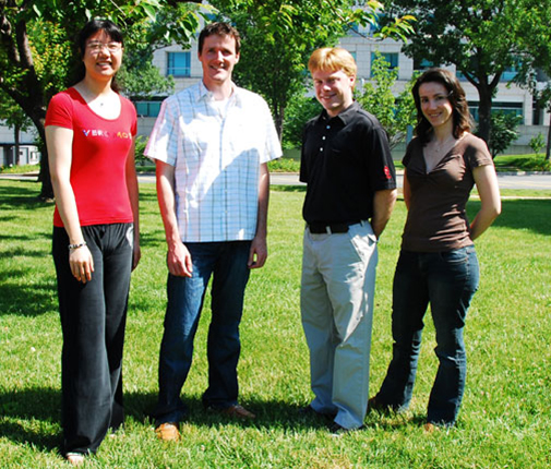 Machner Lab group photo - Summer 2010