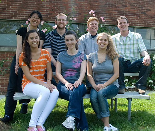 Machner Lab group photo - Summer 2011