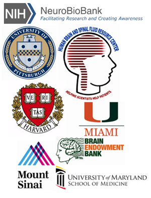 Institutes that support the NIH NeuroBioBank