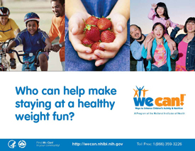 Poster of We Can! (Ways to Enhance Children's Activity and Nutrition)