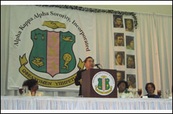 98th National Founders Day in January 2006